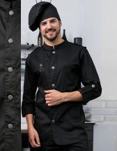 Chef´s Jacket Bikerstyle With Epaulettes